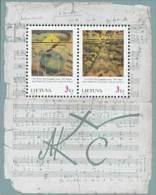 Lietuva Litauen 1996 MNH ** Mi. Nr. 619-620 Bl.7