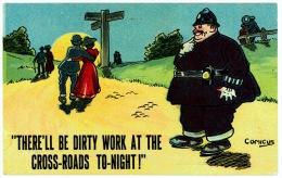 Comic Policeman- Artist Signed Comicus - Polizia – Gendarmeria