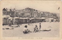 Thematiques 14 Calvados Villers Sur Mer La Plage Cliché Mage - Villers Sur Mer