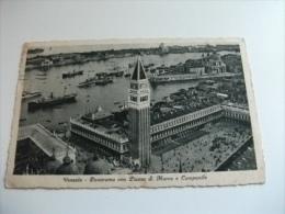 Navi Ship Guerra Etc. Panorama Con Piazza S. Marco E Campanile - Guerra