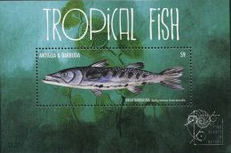 GP0234 Antigua Barbuda 2011 Tropical Fish M MNH - Antigua And Barbuda (1981-...)