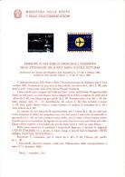 ITALIA  1966 - Bollettino Illustrativo P.TT.   - (italiano-francese) -Rete Notturna - Aerei - Paquetes De Presentación