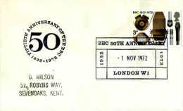 GRANDE-BRETAGNE - 1972-1973  - MUSIC RADIO - BBC - Musique