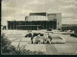 Kinder Vor Dem Staats-Theater Kassel Dokumenta-Stempel 1964 - 1.7.1964 - Kassel