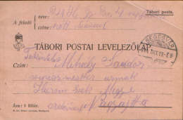Romania/Hungary-Army Post Office Postcard 1914 ,circulated To Nagyajta ,Ardeal- 2/scans - World War 1 Letters
