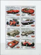 GP0286 Antigua Barbuda 2007 Auto Racing S/S(8) MNH - Cars
