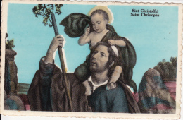 Roosbeek. - Tentoonstelling Zandtapijten ;  Sint Christoffel - Boutersem