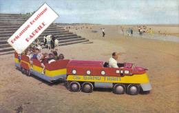 Carte Postale Angleterre  Mablethore  Le Petit Train Touristique De La Plage Trés Beau Plan - Inghilterra