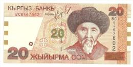 Kyrghizistan 20 Som 1994 UNC - Kirghizistan