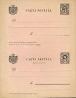 1890 Romania,Postal Card,Carte Postale,Postkarte - Interi Postali