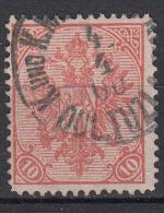 OOSTENRIJK - Oostenr. Spezialkataloog - 1900- Nr 15Ax T/D12 1/2 (Bosnie-Herzegowina) - Gest/Obl/Us - Levant Autrichien