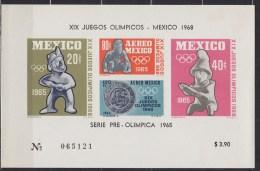 1965 MEXIQUE Mexico  ** MNH . . . . [BN21] - Summer 1968: Mexico City
