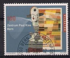 2005 Schweiz  Mi. 1922 FD-used  Eröffnung Des Paul-Klee-Zentrums, Bern - Switzerland