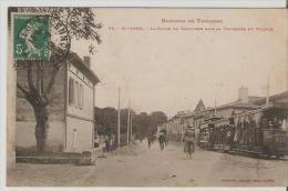 Saint-Agne. Toulouse. La Route De Narbonne Dans La Traversée Du Village. - France