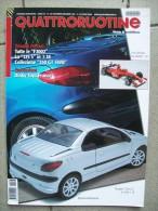 QUATTRORUOTINE NOVEMBRE / DICEMBRE  2002 Rivista Di Automodellismo - Modellismo