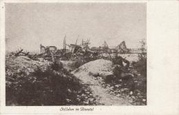 Photocarte Allemande- Stilleben Im Aisnetal -Soldat Alemand- 1915 Dép02( 2 Scans A Identifier) TTBE - Guerre 1914-18