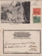 Net Weaver, Postcard, Used - Venezuela