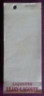 Carnet : LIQUEURS LEJAY LAGOUTE . - Collections