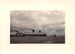 """SAINT-NAZAIRE  -  Cliché Du  """" LIBERTE """" En 1950  -  Bateaux , Paquebot   -  Voir Description - Saint Nazaire"""