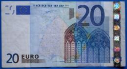 SPAIN  20 EURO V 2002 M011 A2 DUISENBERG - EURO