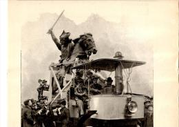 Belle Gravure Ancienne De La Statue De Vercingétorix De Auguste Bartholdi 7 Décembre 1901 - Documents Historiques
