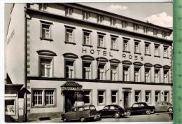 Schweinfurt Am Main, Hotel Ross-Postplatz Um 1970/1980 Verlag: Haas, Schweinfurt,  POSTKARTE, Erhaltung: I-II,  Karte Wi - Schweinfurt