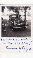 PHOTO 90 X 60mm - AUTO-VOITURE-AUTOMOBILE N° 5116-1-B- Marque ??  A SITUER A LOCALISER - Cars