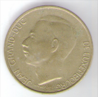 LUSSEMBURGO 5 FRANCS 1986 - Luxembourg