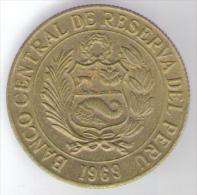 PERU 1 SOL DE ORO 1969 - Perú