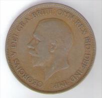 GREAT BRITAIN / GRAN BRETAGNA - GEORGE V - 1 PENNY ( 1930 ) - 1902-1971 : Monete Post-Vittoriane