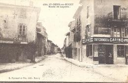 01 - SAINT-DENIS-EN-BUGEY - Ain - Route De Lagnieu - Café De L´Union- Casino - Commerces - Frankreich