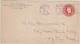 USA, Military Carnival Exposition, Postal Stationary Envelope, Used - United States
