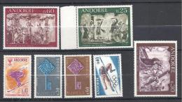 ANDORRE ANNEE 1968  N� 187/93 NEUF* TTB