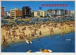 RIVAZZURRA - Rimini - Alberghi E Spiaggia , Panorama - Rimini