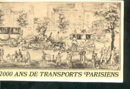 2000 Ans De Transports Parisiens. (automobiles, Bus, Diligences, Scooter, Velo, Tramway, Fiacre,  Omnibus...) Dunlop - Histoire