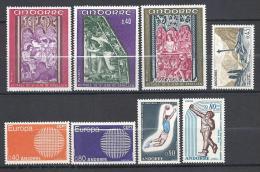 ANDORRE ANNEE 1970  N� 201/08 NEUF* TTB