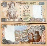 Cyprus 50 Cents 1984 VF Banknote P-49a - Chipre