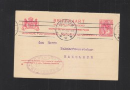 Briefkaart 1911 Rotterdam - Postal Stationery
