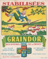 BISCOTTES GRAINDOR - MITRY MORY - Compère Guillerie - Il Monta Sur Un Arbre - Zwieback