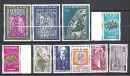 ANDORRE ANNEE 1972  N� 217/225A NEUF*/** TTB