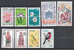 ANDORRE ANNEE 1974  N� 234/42 NEUF* TTB