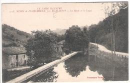 81 TARN MINES De PEYREBRUNE La Route Et Le Canal  1076 - Realmont
