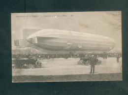 Luneville - Atterrissage Du Zeppelin  Allemand Le 3 Avril 1913 ( Dirigeable Ed. LL) - Luneville