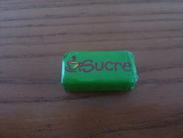 """Sucre Enveloppé """"Sucre - SUCRE MORCEAUX"""" (tasse à Café) Vert - Sugars"""
