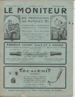 LE MONITEUR Des Professions Rurales - Deuxième Année N° 17 - 5 Septembre 1924 - Livres, BD, Revues
