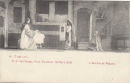 Cpa/pk Fotokaart 1913 Courtrai Kortrijk Notre Dame Des Anges 19 Mars 1908 L´Aurore De Pâques - Kortrijk