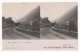 CAUTERETS - Cheminde La Raillière - Vues Stéréoscopiques Julien Damoy - Stereoscopische Kaarten
