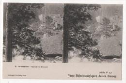 CAUTERETS - Cascade De Brousset -  Vues Stéréoscopiques Julien Damoy - Stereoscopische Kaarten