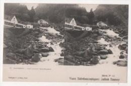 CAUTERETS - Etablissement Saint Sauveur -  Vues Stéréoscopiques Julien Damoy - Stereoscope Cards