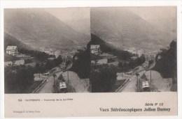 CAUTERETS - Tramway Del A Raillière -  Vues Stéréoscopiques Julien Damoy - Stereoscope Cards